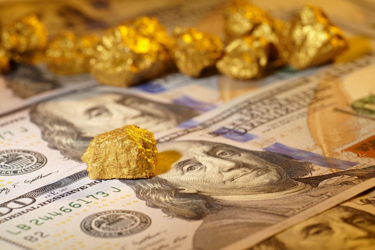 Zlato profitira, ko centralne banke dedolarizirajo